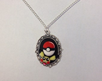 Pokemon inspired necklace
