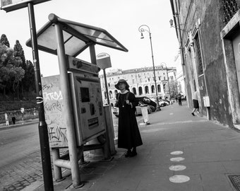 Young Nun's Commute