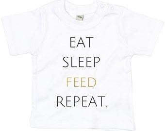 EATSLEEPFEEDREPEAT Baby/Toddler T shirt