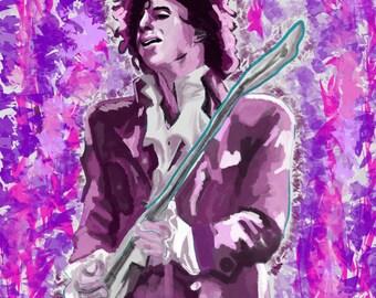 His Purple Majesty