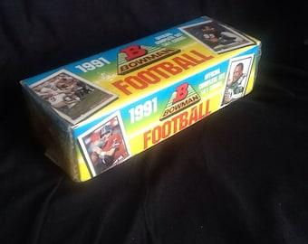 1991 Bowman NFL Complete Set