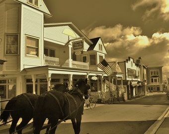 Mackinac Island Carriage Ride, Michigan