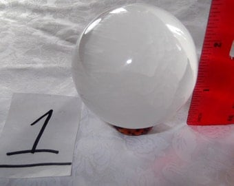 Selenite sphere 50 mm  254.5 g