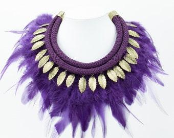 Collar of purple pens Ref: C0196