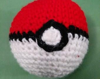 Crochet Pokeball Pattern