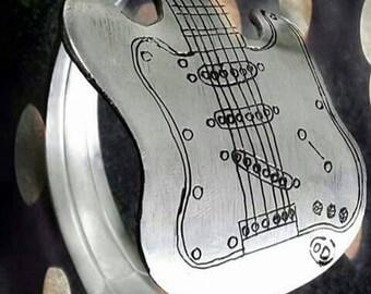 Spoon guitar bracelet