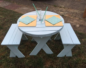 Children's Table & Chairs Set