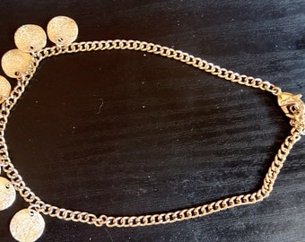 chain anklet oriental style