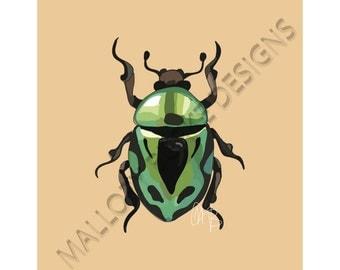 Beetle Print