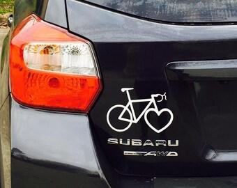 Kind Bikes Logo Car Decal