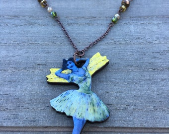 Natural Whimsy Collection: Ballerina Necklace