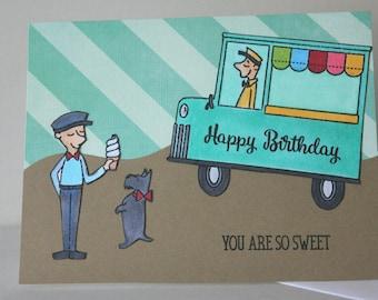 Greeting Card Birthday, Birthday Greeting Card, Handmade Greeting Card, Birthday Card Handmade, Child Birthday Card