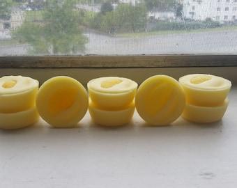 Lemon, soy wax tarts