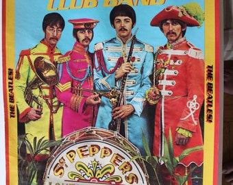 BEATLES POSTER - SGT. Pepper's Lonely Hearts Club Band -1978