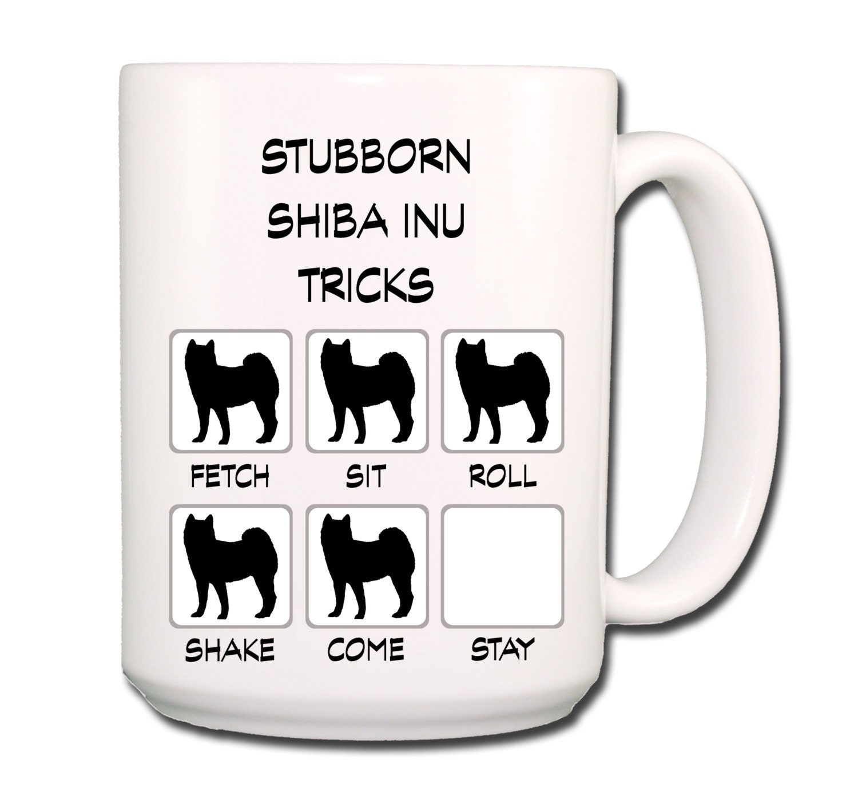 Shiba Inu 24 Tricks Shiba Inu Stubborn Tri...