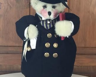 Apple Whimsey Collectibles - Toulouse Bear