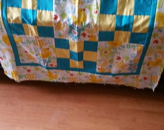 Baby Boy quilt top only