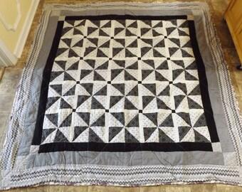 Beautiful Custom Design Home Made Quilt
