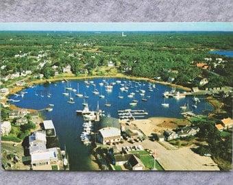 Wychmere Harbor, Harwichport, Cape Cod Massachusetts Postcard