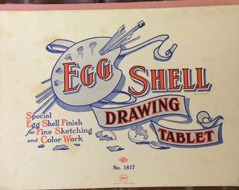 Egg Shell Drawing Tablet No. 1817