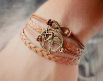 Bracelet in the style of The Hunger Games