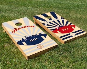 New England Patriots Cornhole Board Set