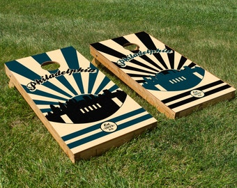 Philadelphia Eagles Cornhole Board Set
