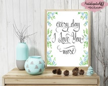 Unique every day i love you related items Etsy