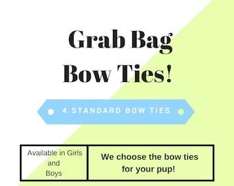 Grab bag bow Tie, Dog Bow ties