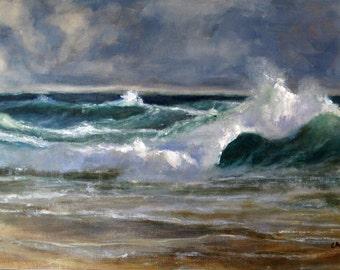 "The Wave 16"" x 101/2"" Framed"