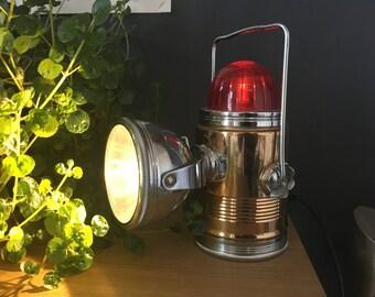 belle lampe de signalisation vintage