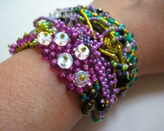 Funky Chunky Beaded Bracelet 2