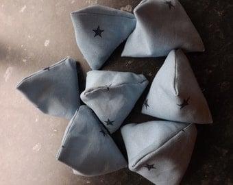 7 Sewing pattern weights, 60grm each, 7.8 cm x 8.0 cm, Handmade