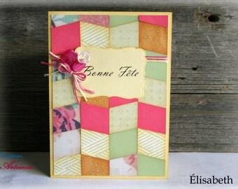 Birthday card / card Elizabeth