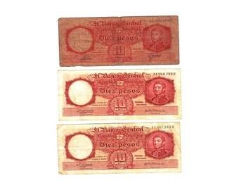 Argentina Banknotes