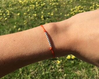 Handmade bracelets with silver - Hilo
