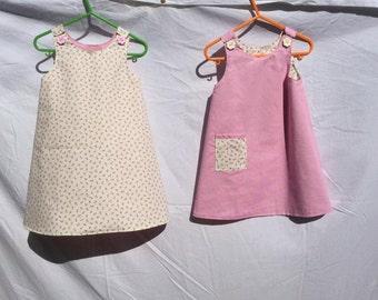 Pink reversible dress