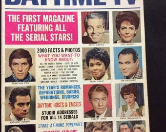 Who's Who in Daytime Tv~No. 3~ 1969~Lori March~Micki Grant~Eileen Fulton