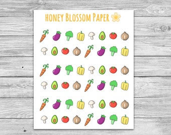 Veggie Planner Stickers