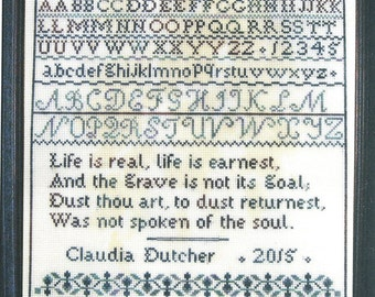 Spoken of the Soul by Dutch Treat Counted Cross Stitch Pattern/Chart