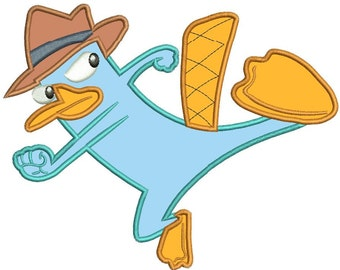 Items Similar To 20 Phineas And Ferb Perry The Platypus