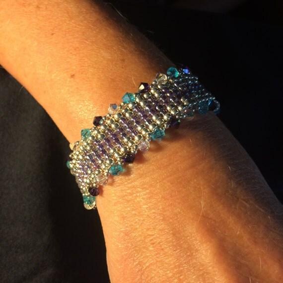 Number 33 Hand woven bracelet
