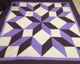 Carpenters Star Queen Sized quilt