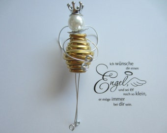 Angel, guardian angel, Angel button