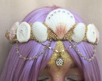 Sand Dollar Mermaid Crown
