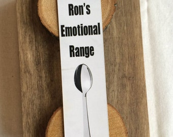 Ron  Bookmark - Ron's Emotional Range - HP