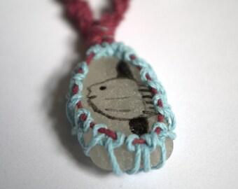 Sunfish Sea Glass Necklace