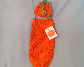 Pumpkin Baby Cocoon