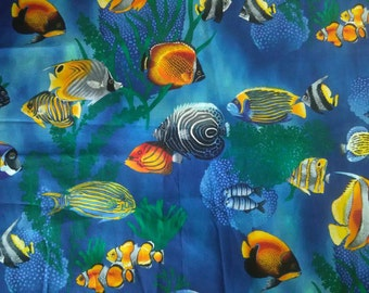 Tropical Fish Pocket Tee