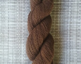 Earthy Brown Alpaca Yarn